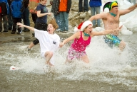 Penguin Plunge Special Oympics