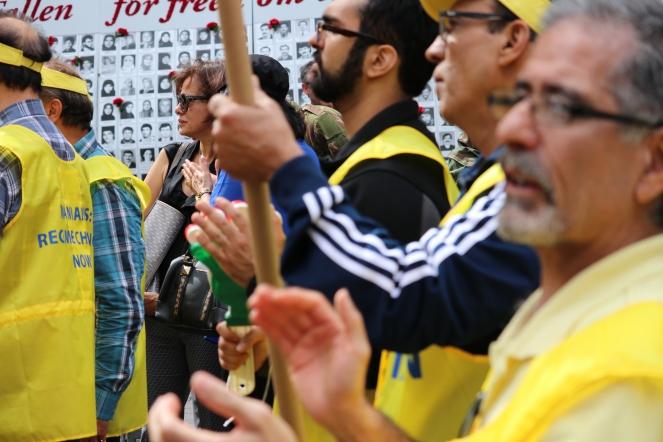 The 'Free Syrian & Iran_ Rally