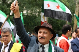 The 'Free Syrian & Iran_ Rally1