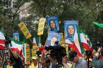 The 'Free Syrian & Iran_ Rally11