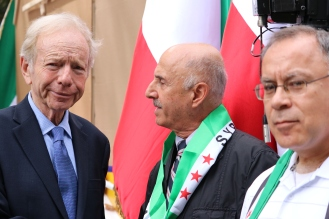 The 'Free Syrian & Iran_ Rally12