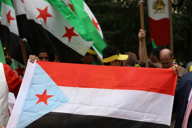 The 'Free Syrian & Iran_ Rally14