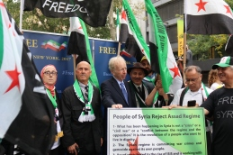 The 'Free Syrian & Iran_ Rally15