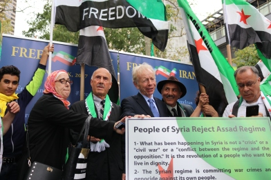 The 'Free Syrian & Iran_ Rally16