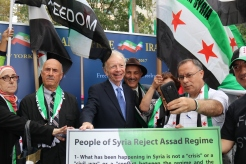 The 'Free Syrian & Iran_ Rally17