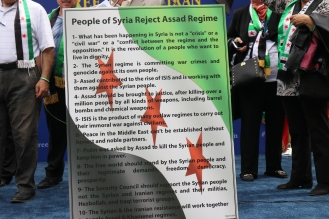 The 'Free Syrian & Iran_ Rally18