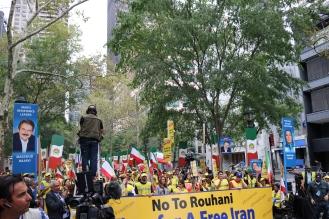 The 'Free Syrian & Iran_ Rally19
