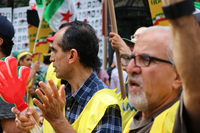 The 'Free Syrian & Iran_ Rally3