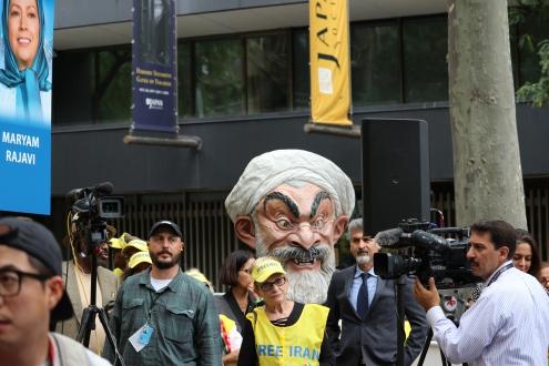 The 'Free Syrian & Iran_ Rally6