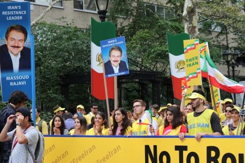 The 'Free Syrian & Iran_ Rally9